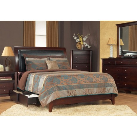 Double Bed Set Modern Style