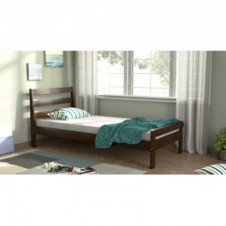 GRACIA SINGLE BED PURE SOLID WOOD