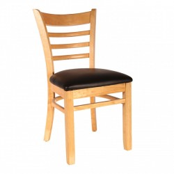 SOLLANA CAFE CHAIR PURE SOLID WOOD