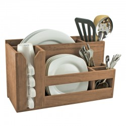 KITCHEN STORAGE RACK FOR DISHES, SPOONS AND CUPS