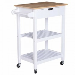 ESCOLAR KITCHEN SERVING/TEA STORAGE TROLLEY