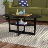 HUEVO COFFEE CENTER TABLE OVAL