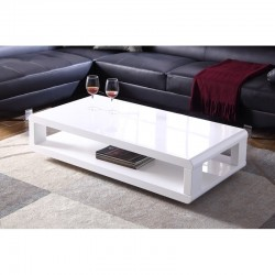 BLANCO COFFEE CENTER TABLE LOW PROFILE